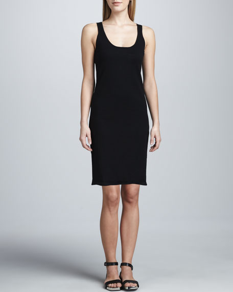 Stretch-Knit Tank Dress