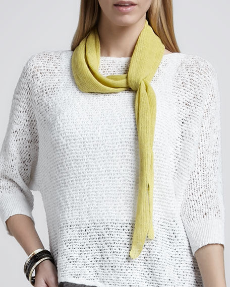 Ribbed Parallelogram Scarf