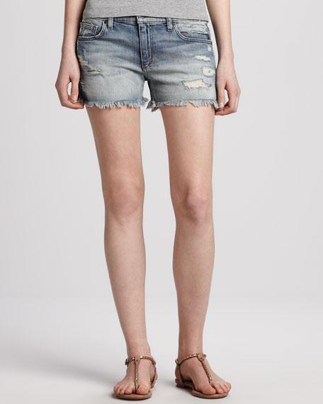 Easy Cutoff Jean Shorts