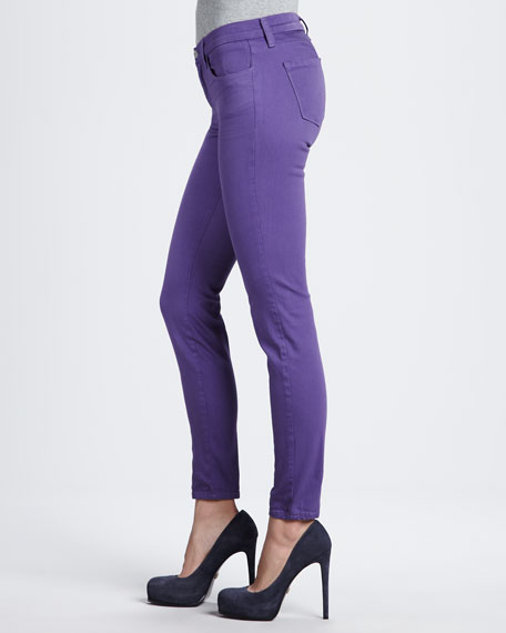 620 Super Skinny Jeans in Washed Hyacinth