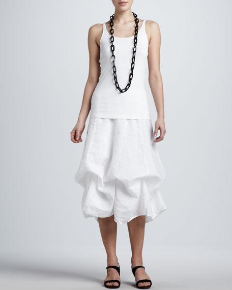 Handkerchief Linen Long Skirt