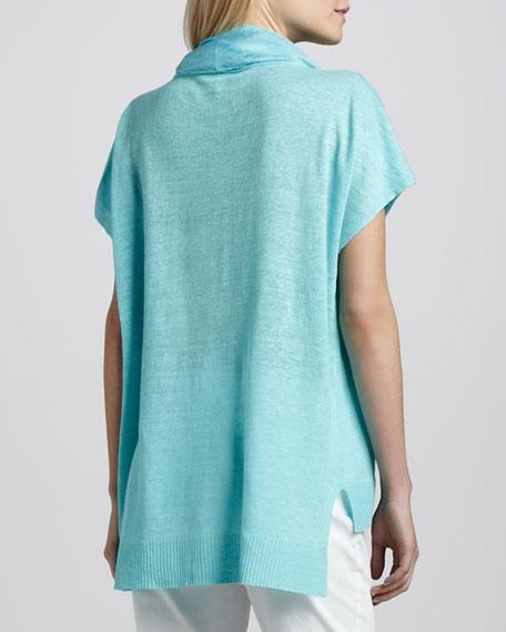 Linen Short-Sleeve Tunic