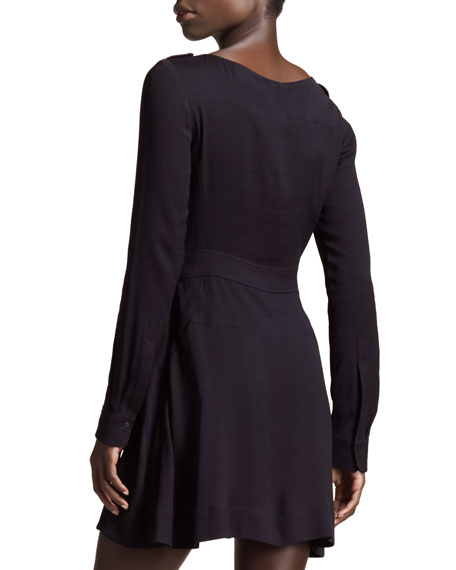 Iola Long-Sleeve Dress