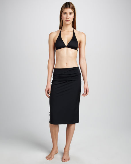 Convertible Dress/Skirt, Black