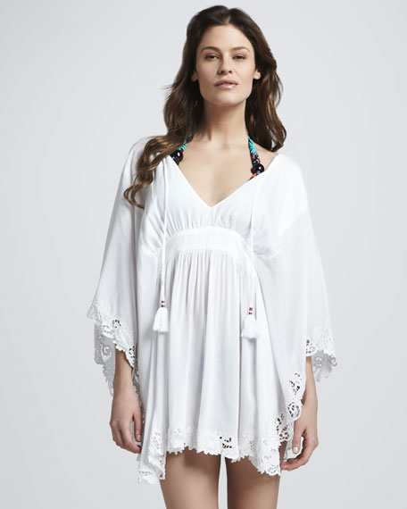 Eyelet-Trim Coverup