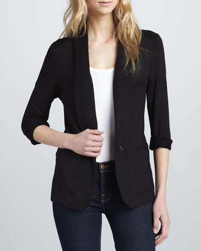 Soft Joie Neville Relaxed Terry Blazer