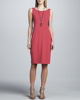 Eileen Fisher Jersey Knee-Length Oval Dress