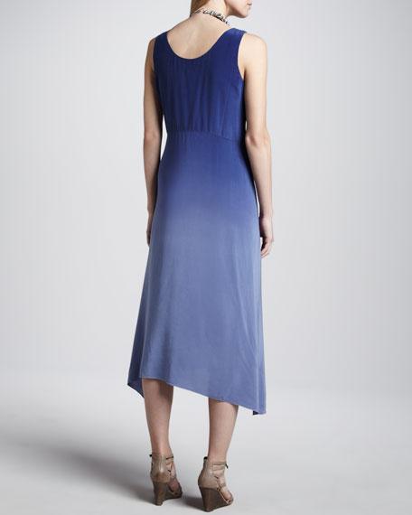 Ombre Silk Long Dress