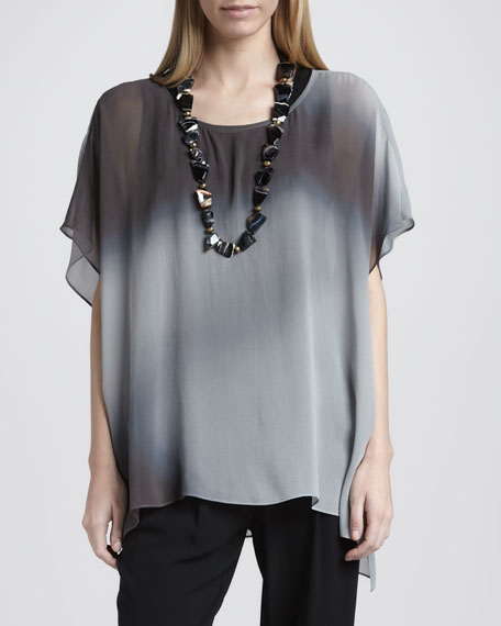 Watercolor Sheer Tunic