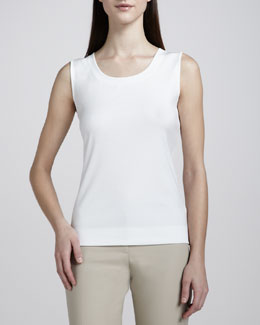 Lafayette 148 New York Scoop-Neck Tee