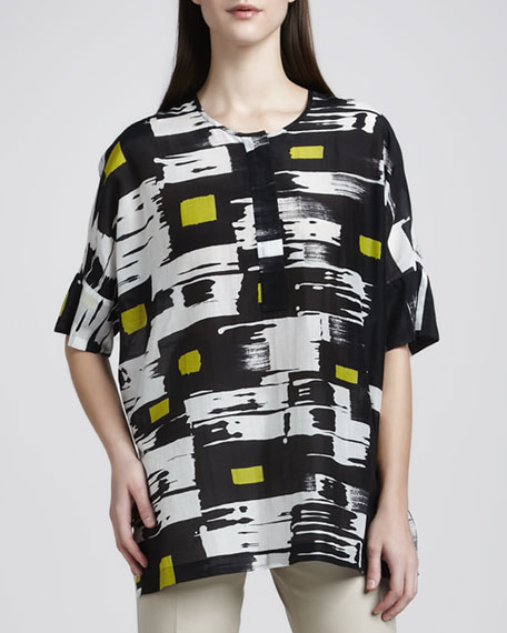 Agile-Print Tunic