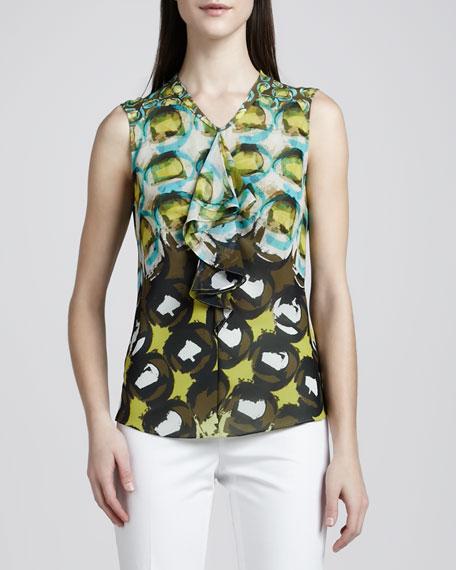 Rosa Silk Printed Blouse