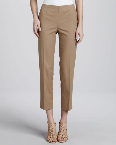 Cropped Bleecker Pants, Chai