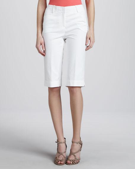 Slim Bermuda Shorts