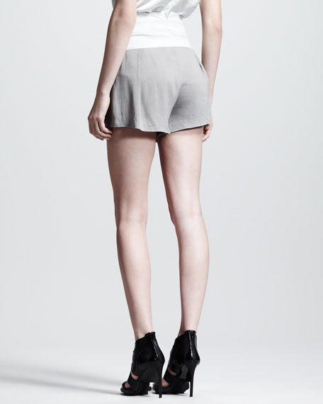 Triton Pleated Shorts