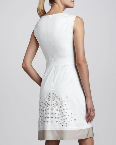 Elle Embellished Cutout Dress