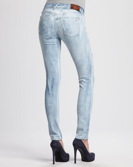 Amanda Frenzy Distressed Skinny Jeans