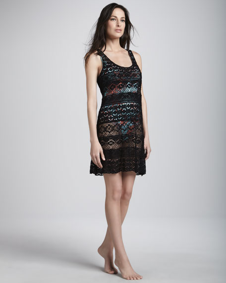 Cosmic Crochet Coverup Dress