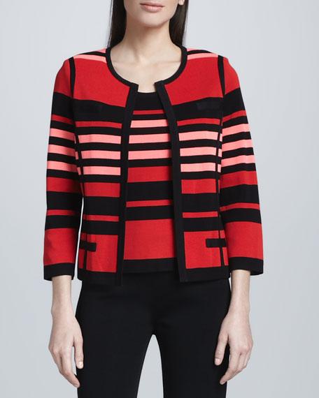 Liz Striped Jacket