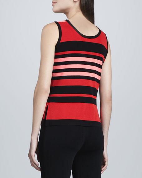 Amy Striped Knit Tank
