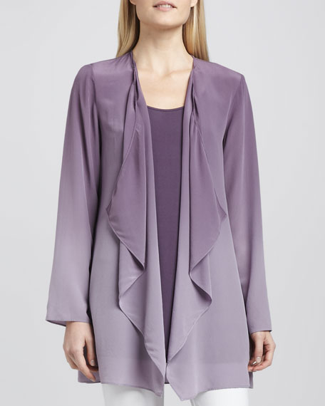Ombre Silk Jacket