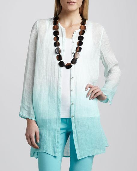 Ombre Linen Tunic
