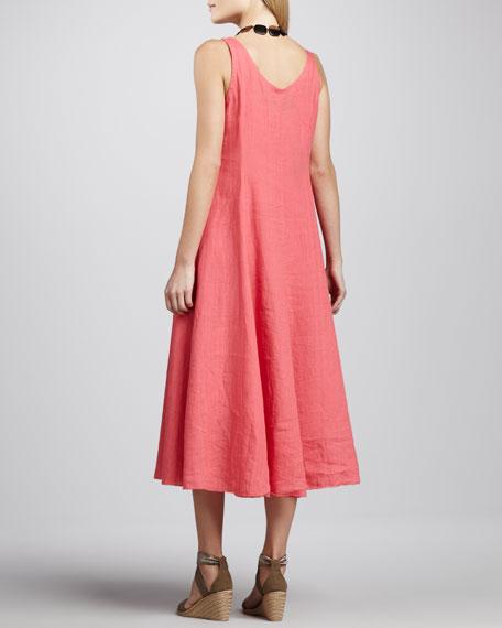 Handkerchief Long Linen Dress