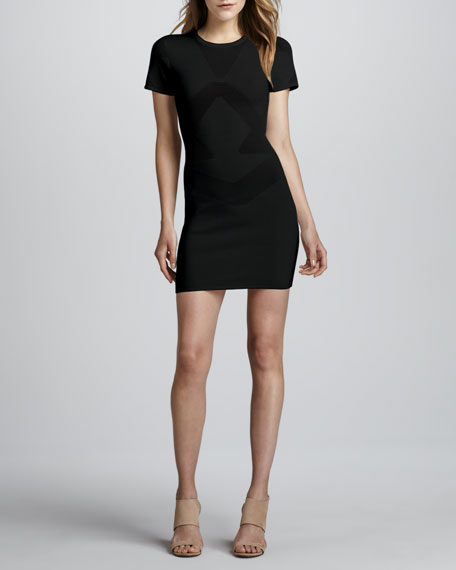 Montana Fitted Knit Dress
