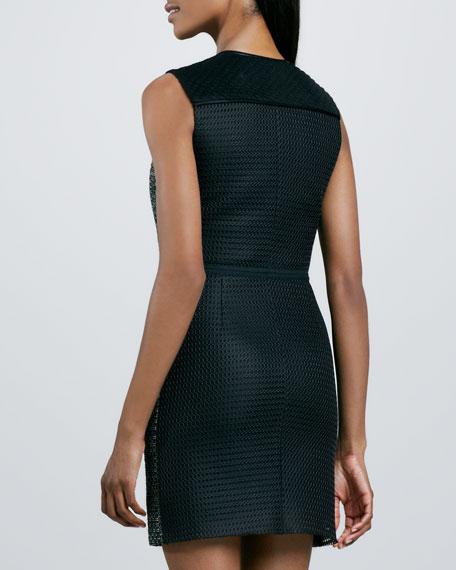 Textured Zip Dress