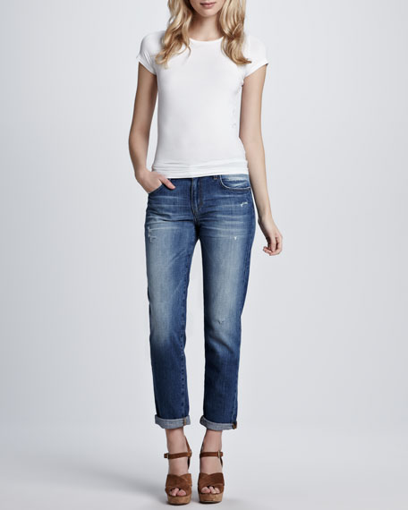 Easy Mazy High Water Jeans