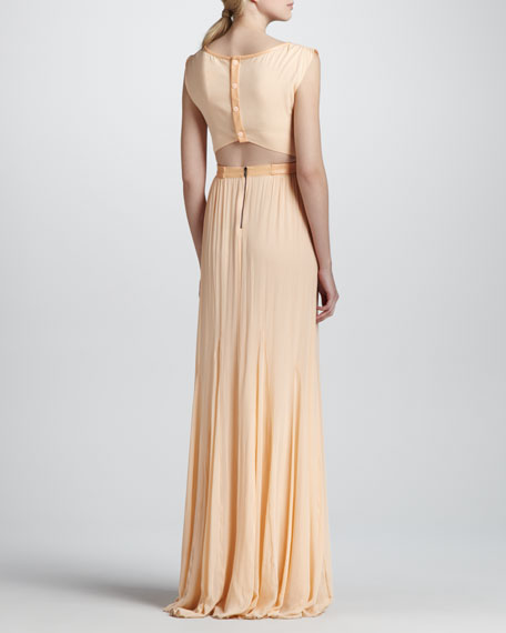 Triss Belted Maxi Dress