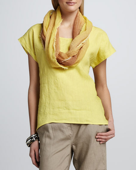 Tinted Cotton Scarf