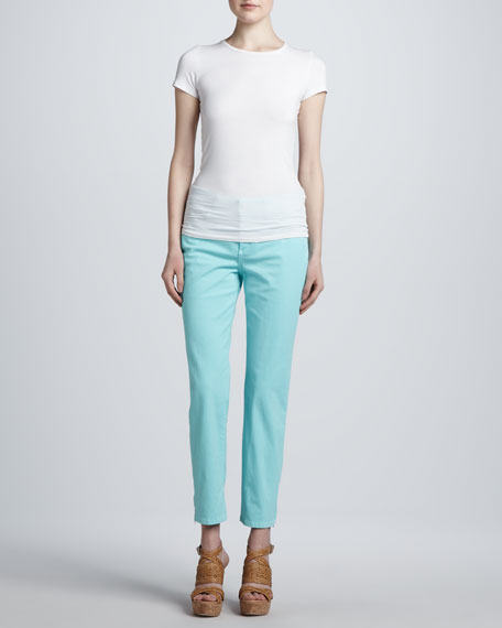 Lisa Zip-Ankle Jeans