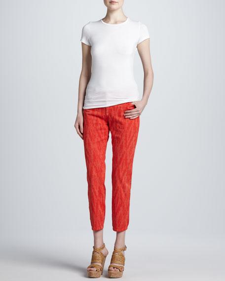 Cayene Alisha Printed Ankle Jeans, Women's