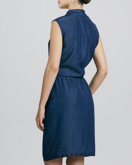Halley Waist-Tie Dress