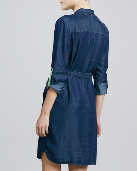 Maura Chambray Shirtdress