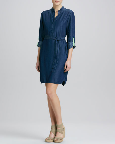 Maura Chambray Shirtdress