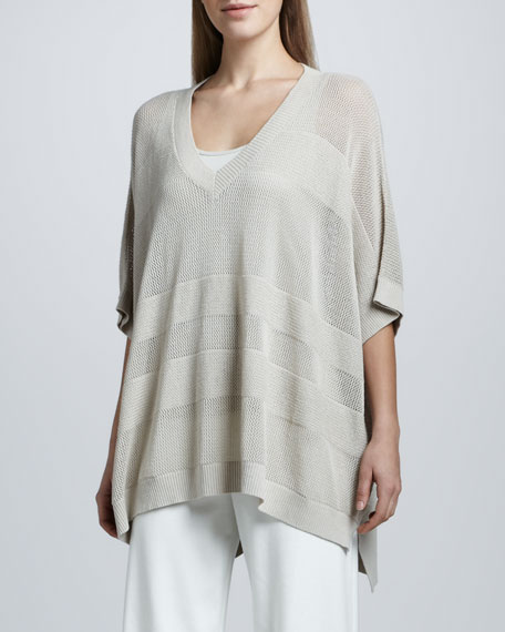 CLSSC OVERSIZE MESH SWEATER