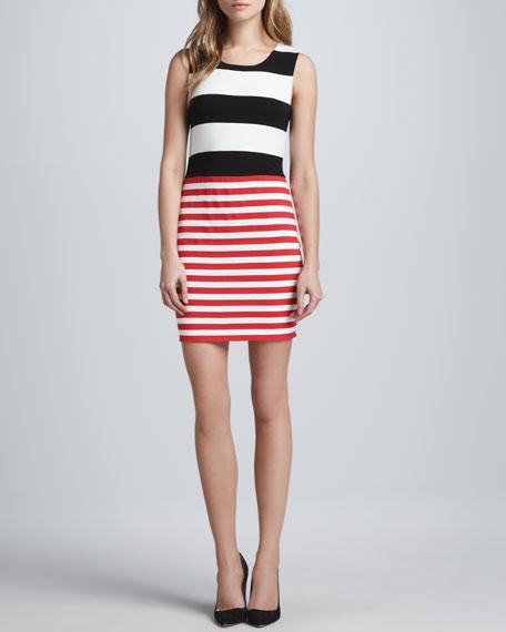 Bailey 44 Delta Time Striped Tank Dress