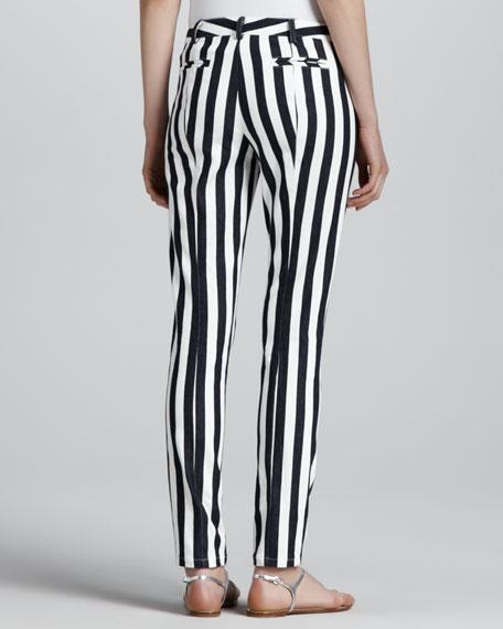 Taverna Panorama Slim Striped Pants