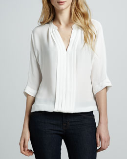 Joie Marru Split-Neck Top