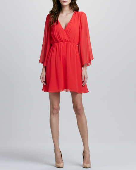 Copen Bell-Sleeve Dress