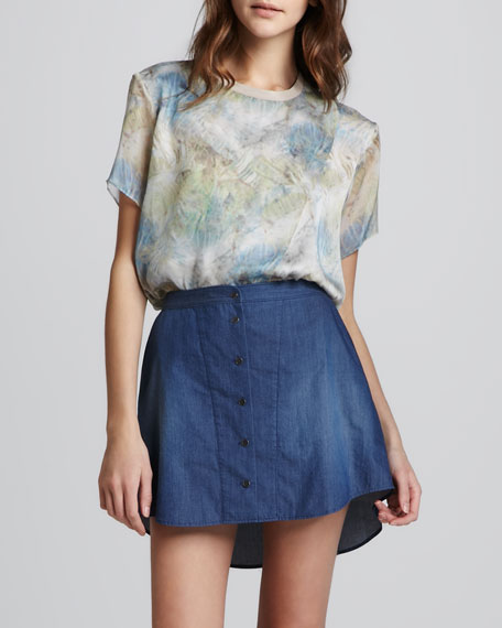 Suna Chambray Skirt
