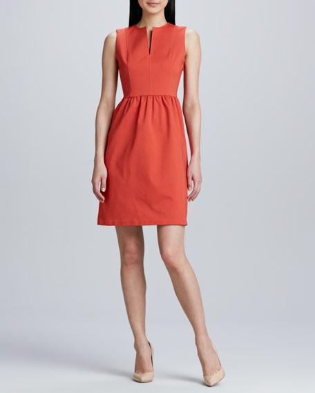 Slit-Front Dress