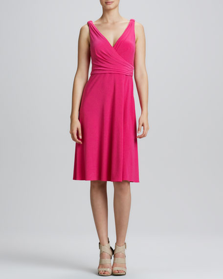 Kendall Surplice A-Line Dress