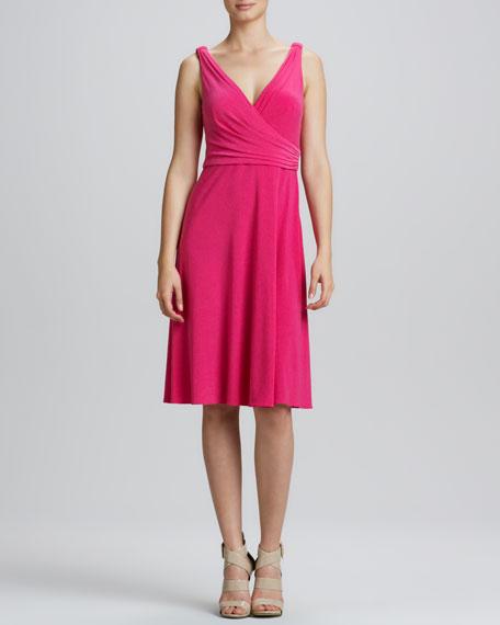 Kendall Surplice A-Line Dress