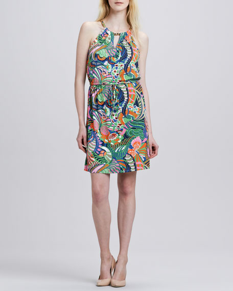 Fanning Butterfly Dress