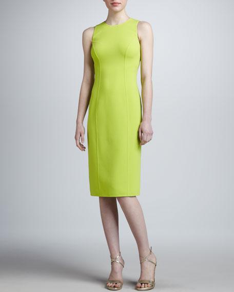 Princess-Seam Sheath Dress