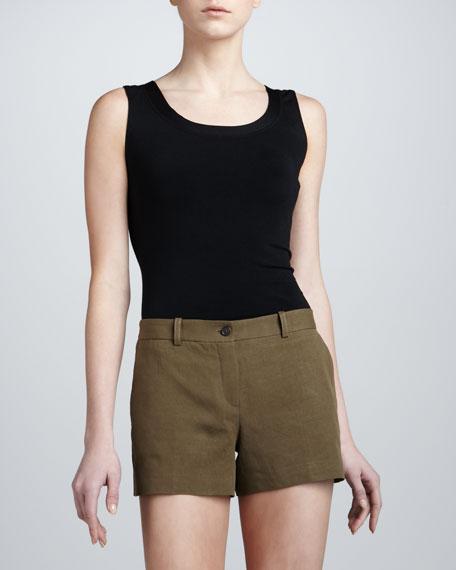 Mini Shorts, Olive