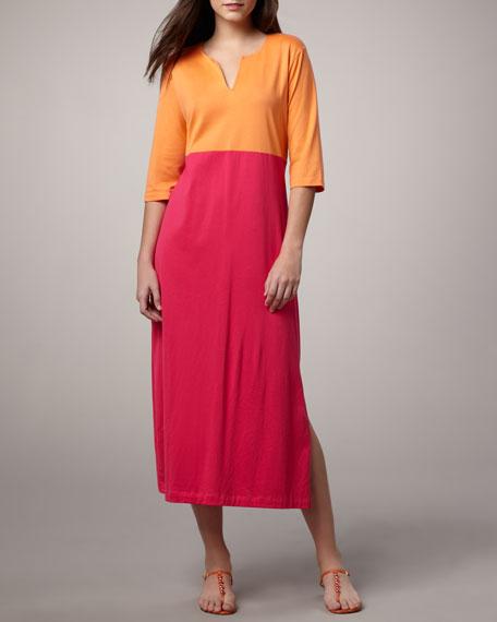 Colorblock Knit Dress, Petite
